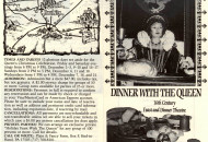 Dinner with the Queen Mt Hope Cover and Back copy