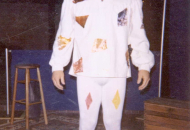 Den as Arlecchino 1982